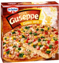 pizza guseppe chicken curry