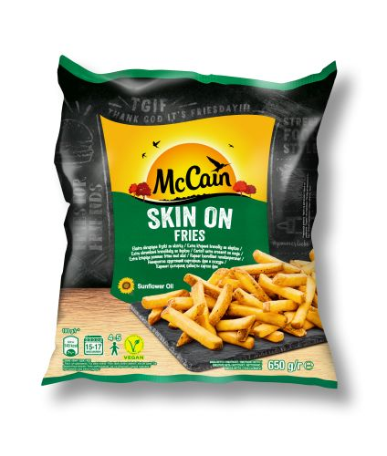 mccain skinon fries v